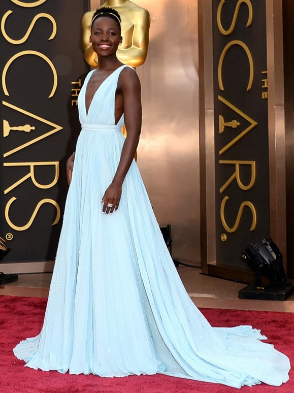 Oscars 2014, Red Carpet, Best Dressed, Gown, Lupita Nyong'o, Prada