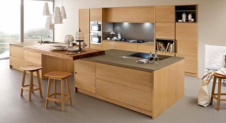 Materiales para cocinas iii maderas c lidas e - Maderas para muebles de cocina ...