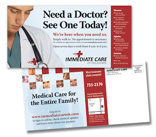 Marketing Urgent Care with direct mail