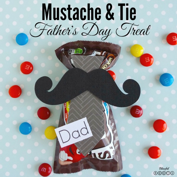 Mustache & Tie Father's  Day Treat @ Blissful Roots