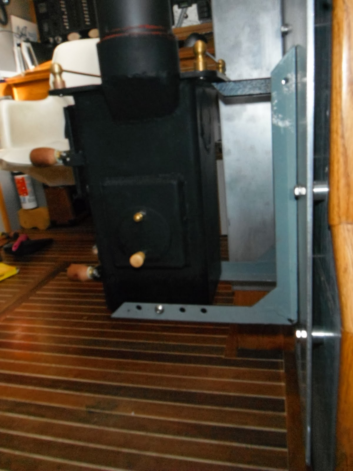 how to h2obo installing a wood burning stove