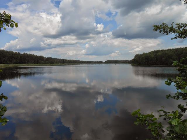 Отражение облаков в Пименовом пруду