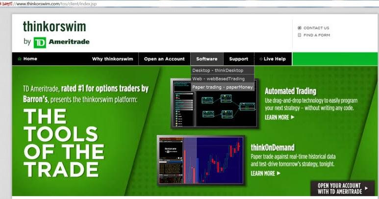 Cara trading option di optionsxpress