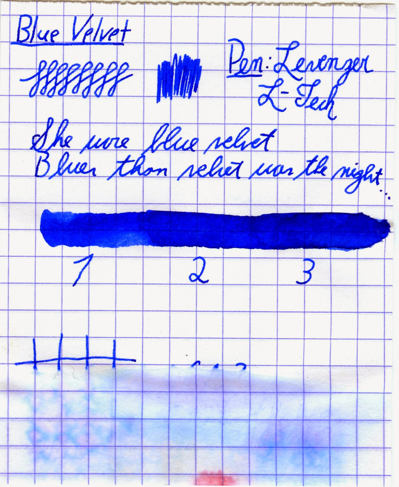 Diamine 150th Anniversary Inks Overview - Blue Velvet