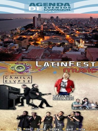 Programa fiestas Octubrinas de Guayaquil 2015