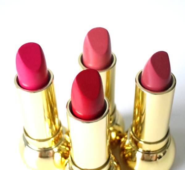 Dior Holiday 2015 State Of Gold Collection Diorific Mat lipstick: Fantastique, Fabuleuse, Radieuse, Fascinante