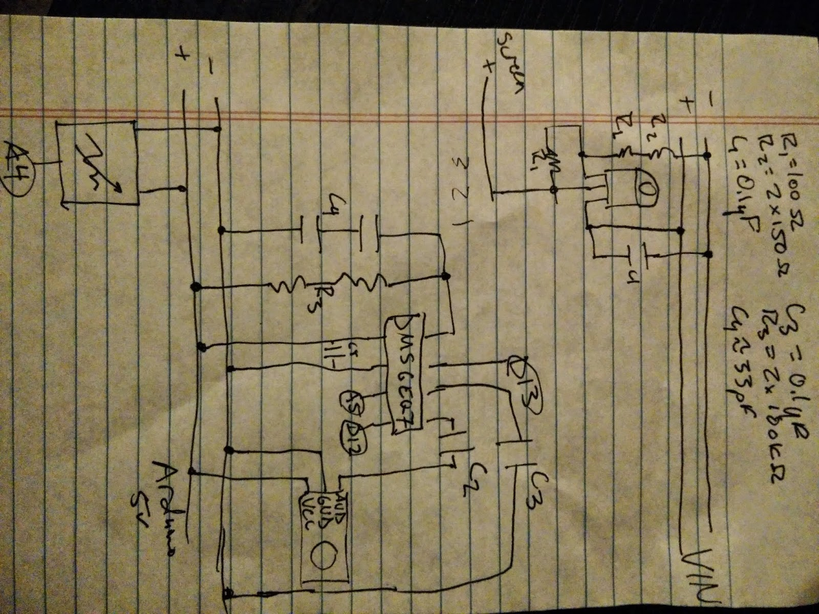 Dylans Projects 2015 Audio Why Is My Msgeq7 Circuit Giving Arduino Analog Readings That Above And Below Diagrams For The Prototype Shield Sits Atop Allows You To Plug In Display Ribbon Cable