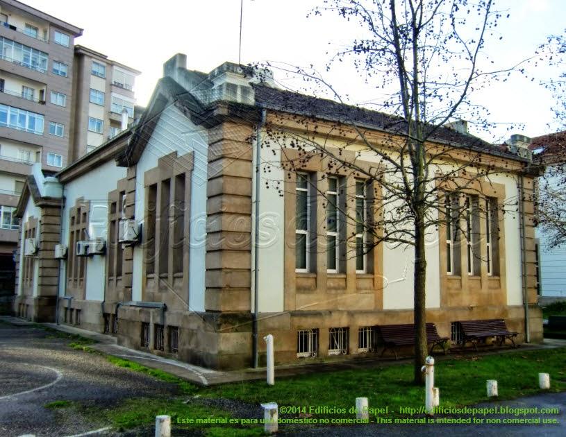 Edificios del Campus Universitario de Ourense