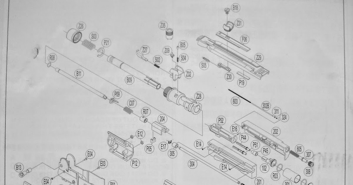 disassembly  diy  my airsoft gun  and other things  kwc mini uzi disassembly diagram  explode