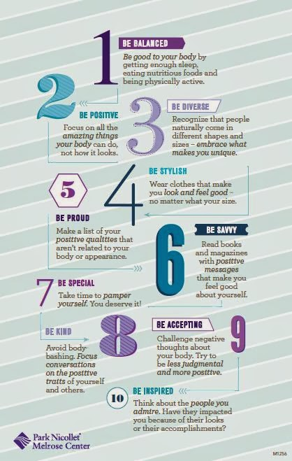 10 ways to build a better body image from park nicollet