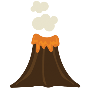 Volcano cut file by Miss Kate Cuttables