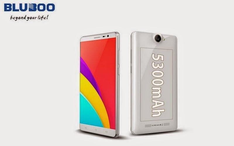 Bluboo X550 Dukung Baterai 5.300 mAh
