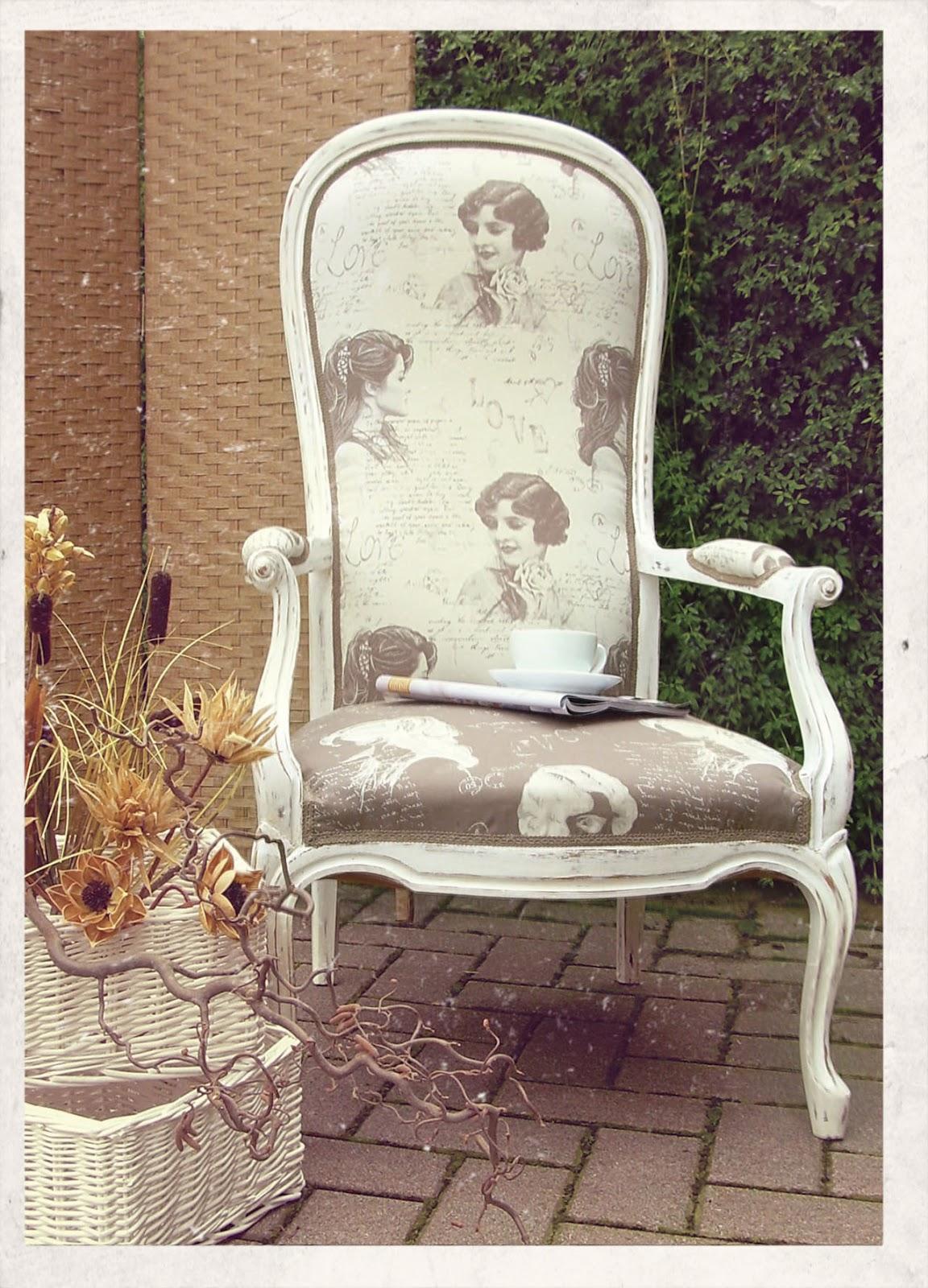 Lorendesign Sedia Della Nonna Restaurata Grandmother Chair