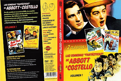 El Fantasma Huye |1946 | The Time of Their Lives | Abbott y Costello