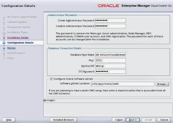 How to install Oracle Enterprise Manager Cloud Control 12c ...