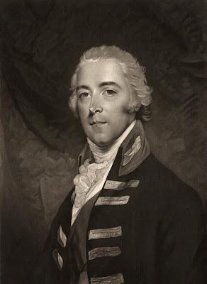 John Pitt, 2nd Earl of Chatham by Valentine Green, after John Hoppner mezzotint, 1799