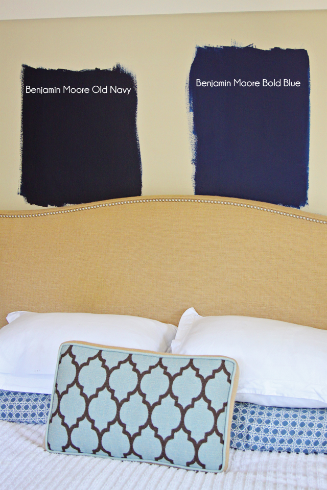 Benjamin Moore Dark Royal Blue Paint