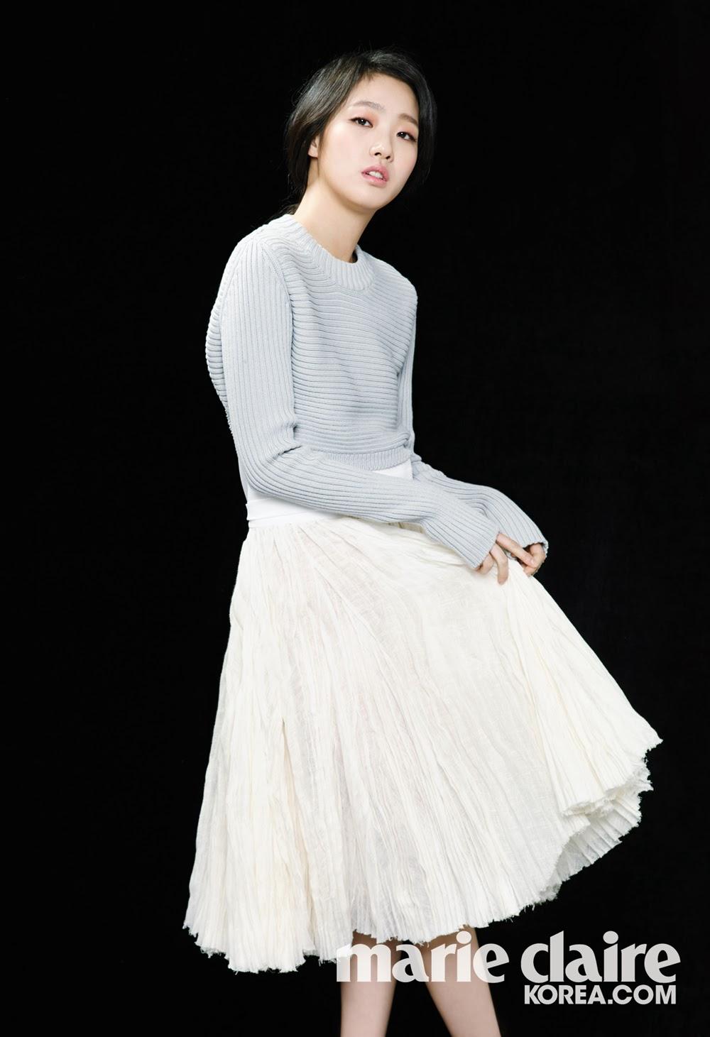 Kim Go Eun - Marie Claire Magazine March Issue 2014