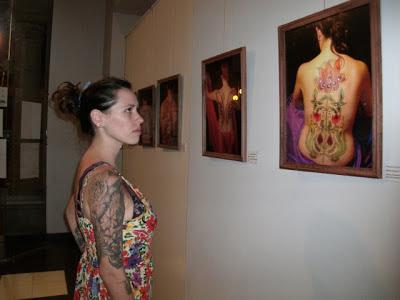 muestra de magdalena negri chacabuco maquillaje decorativo tatuajes