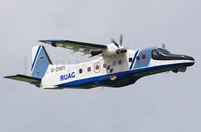 DO-228 patrol aircraft