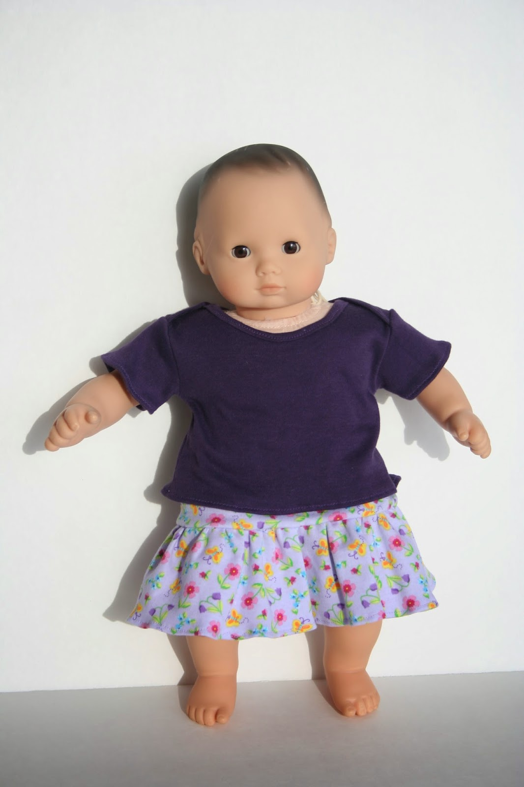 Arts and crafts for your bitty baby doll skirt for bitty for 5 inch baby dolls for crafts