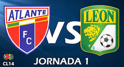 Ver Atlante vs León en Vivo