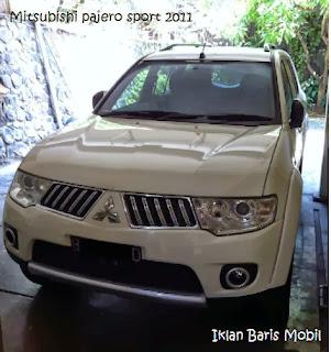 Iklan baris mobil, Dijual mitsubishi Pajero Sport tahun 2011