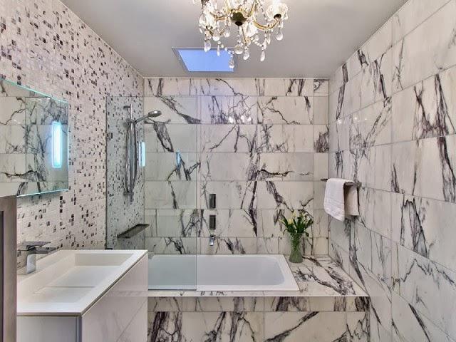 motif keramik dinding kamar mandi
