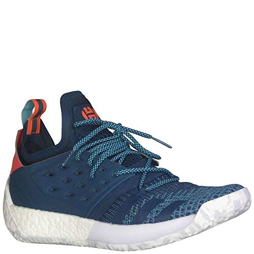 adidas Men s Harden Vol 2 Basketball Blue Night Bright Cyan Shock Red 8.5  D(M) US 2019 d0cf3bf76