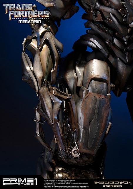 [Prime1Studio] Transformers: Revenge of The Fallen: Megatron Polystone Statue 1363962861_7
