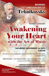 Experience the Art of Music with masterpieces of Tchaikovsky!