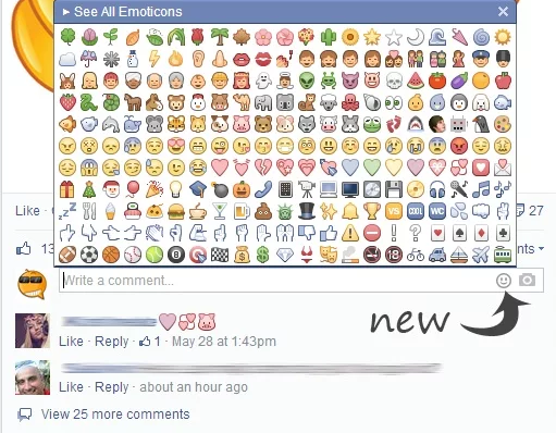Emoticons do Facebook no Chat Sem Copiar  Emoticons para Facebook