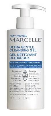 Gel nettoyant ultradoux de Marcelle, approuvé par l'Association canadienne de dermatologie