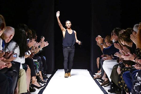 Paris Fashion Week Balmain show