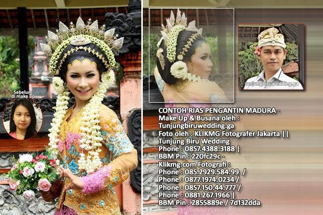 CONTOH RIAS PENGANTIN MADURA - Make Up & Busana oleh : Tunjungbiruwedding.ga - Foto oleh : KLIKMG Fotografer Jakarta    Tunjung Biru Wedding : Phone : 0857.4388.3188   BBM Pin : 220fc29c - Klikmg Fotografi : 085.2929.584.99 / 0877.1974.0234 / 0857.150.44.777 / 0881.267.1966   BBM Pin : 2855889e / 7d132dda