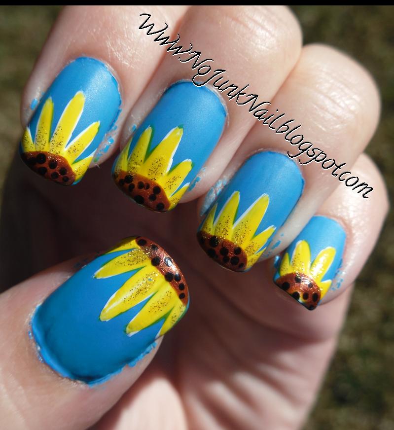 Art Design of Sunflowers
