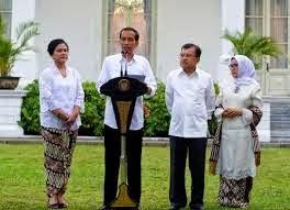 Daftar 34 Menteri Kabinet Jokowi JK 2014 (Kabinet Kerja)