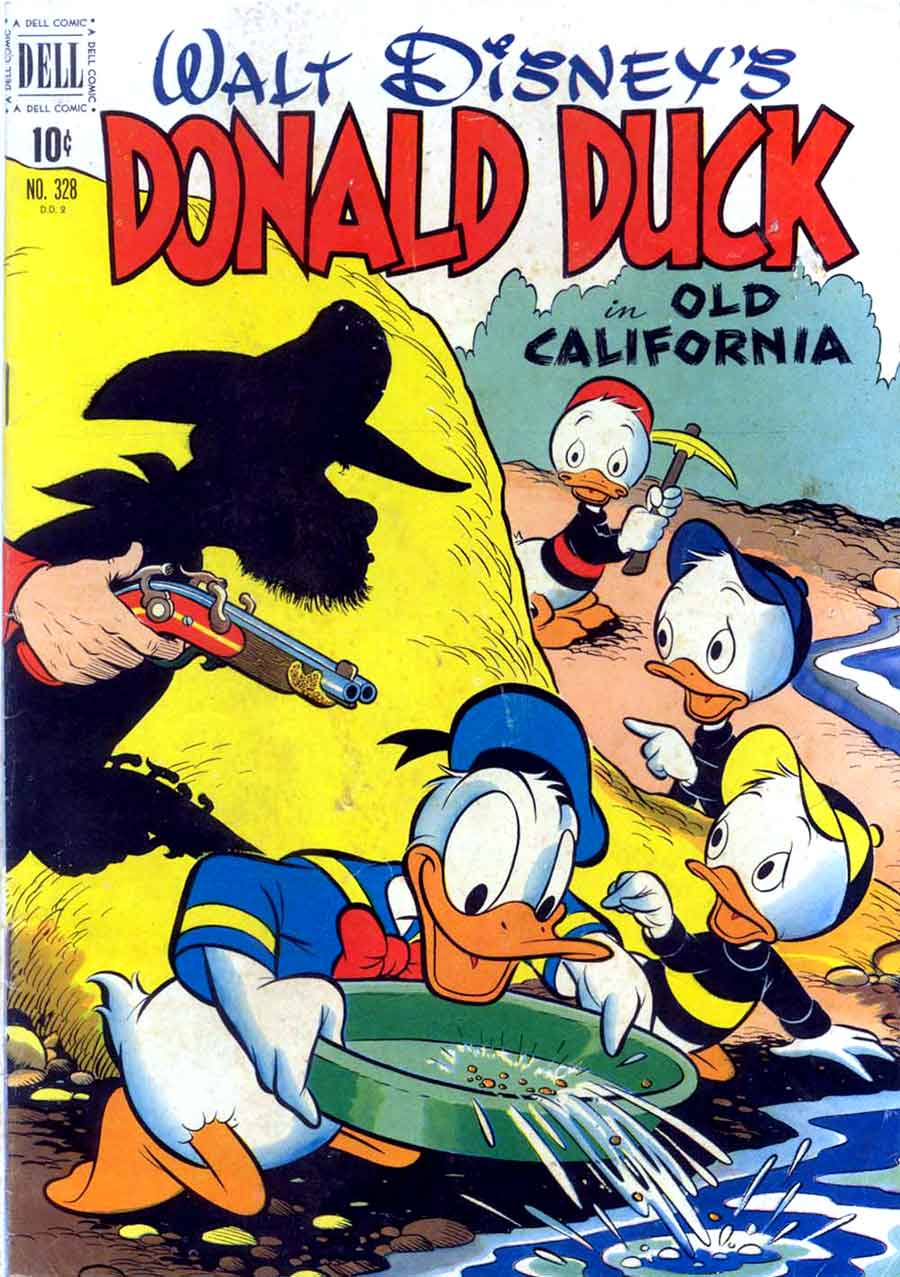 donald duck four color comics v2 328 carl barks art pencil ink. Black Bedroom Furniture Sets. Home Design Ideas