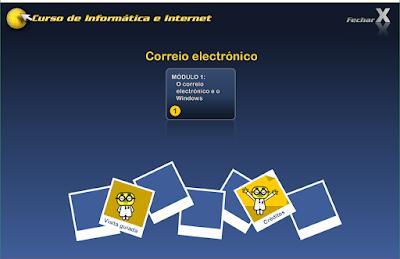 CURSO DE INFORMÁTICA E INTERNET - CORREIO ELETRÔNICO