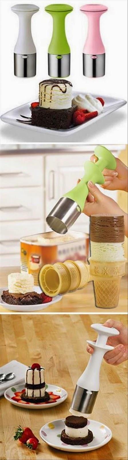 3.  Ice Cream Staker