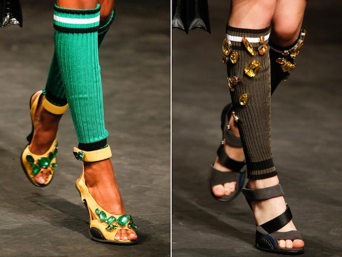 athletic socks trend