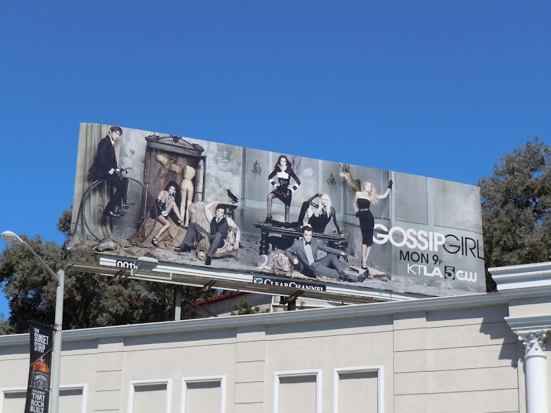 Gossip Girl season 4 billboard