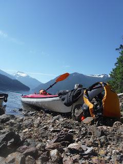 kayaking in Ross Lake National Recreation Area