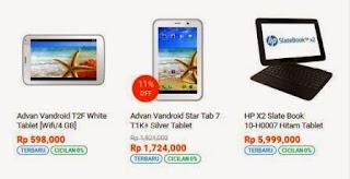 Harga Tablet Terbaru 2015