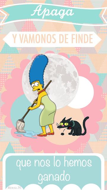 cartel-mensaje-positivo-marge-Simpson
