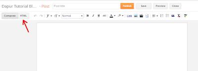 Pilih Mode HTML