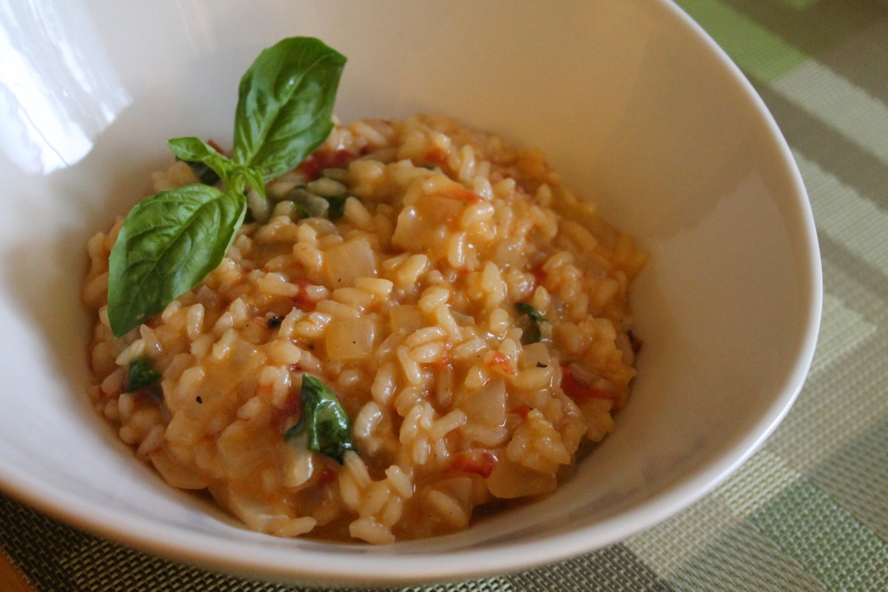 Cook In / Dine Out: Roasted Tomato Risotto