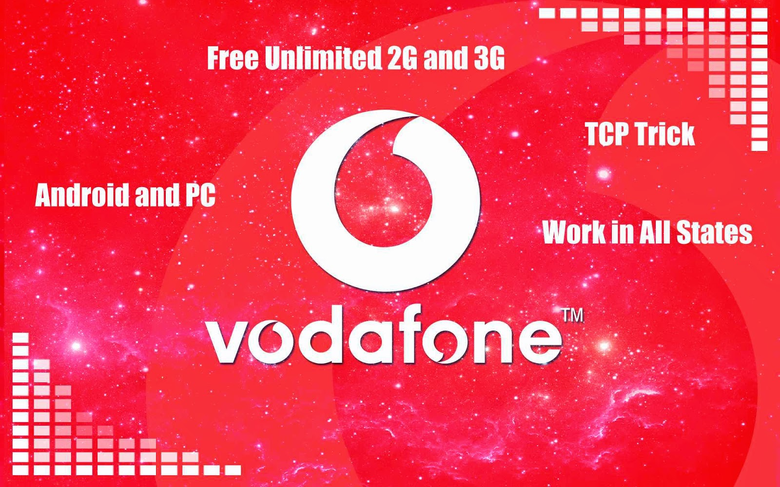 Vodafone Free 3G Unlimited Internet TCP Trick 2015