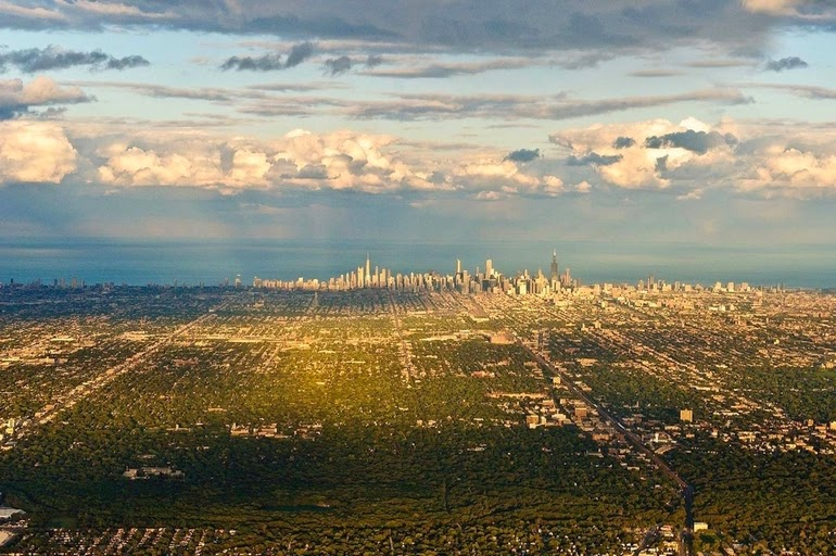 aerial photography - Chicago III