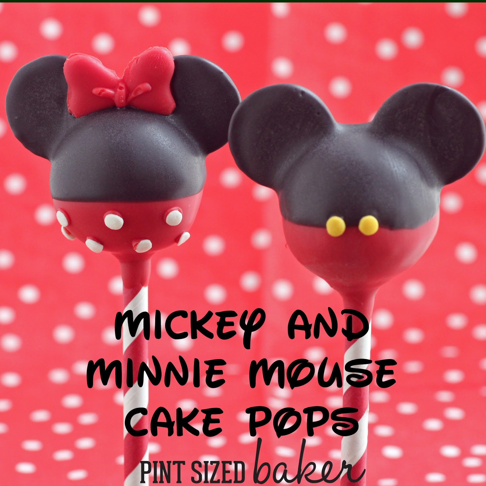 How To Make Pink Minnie Mouse Cake Pops
